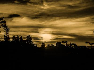 Por do Sol - Campos do Jordão - SP