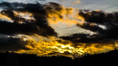 Céu de Outono Pinhalense