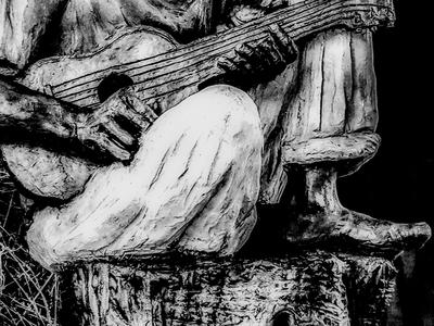 Foto Arte - Escultura Caboclo