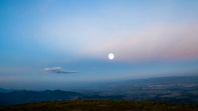 Lua no Pico Agudo