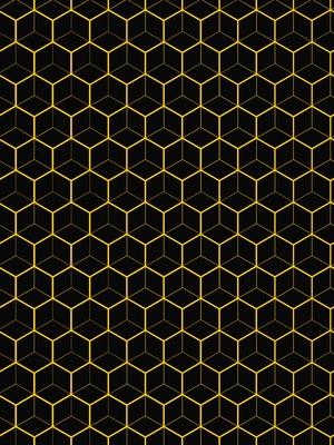 Hexagon Amarelo