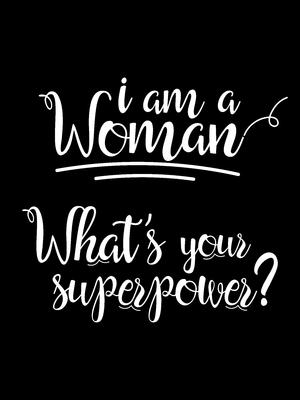 I am a woman black