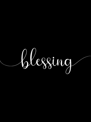Blessing black
