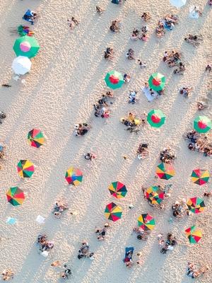 Areia, Praia, Mar e Cores parte 1 de 2