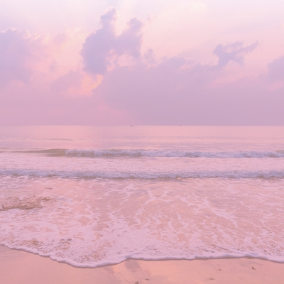 Pink Sea Square