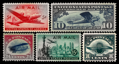 Stamps - Air Mail