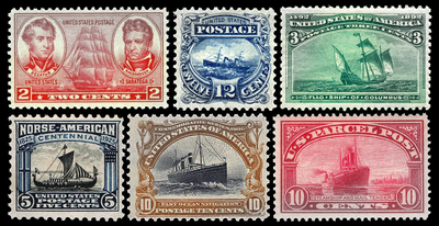Stamps - Ships
