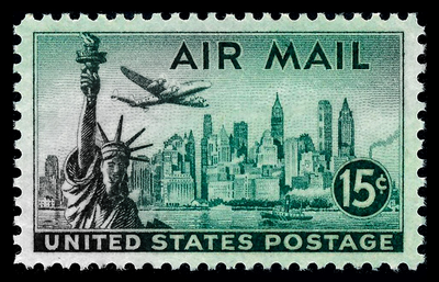 Stamps - Air Mail 4