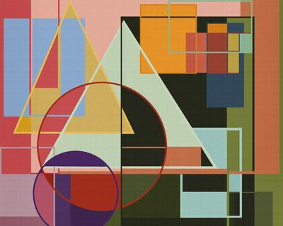 Composiçao Abstrata 422
