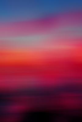 Cores do pôr do sol