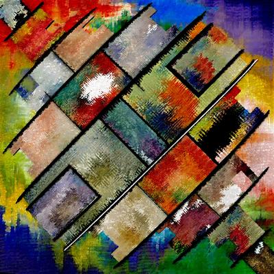 Composiçao Abstrata 19