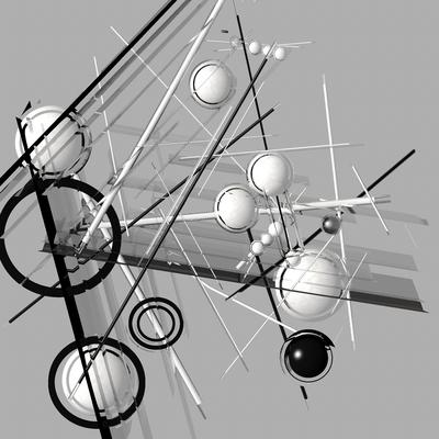 Composiçao Abstrata 185