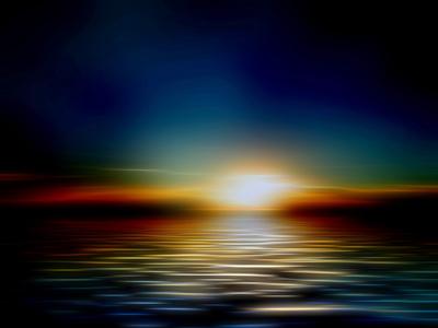 Cores do pôr do sol 2