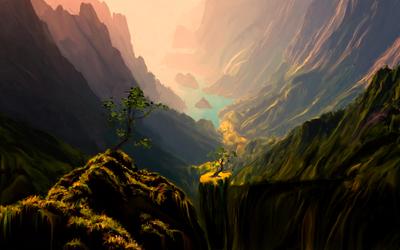 Canyons verdes