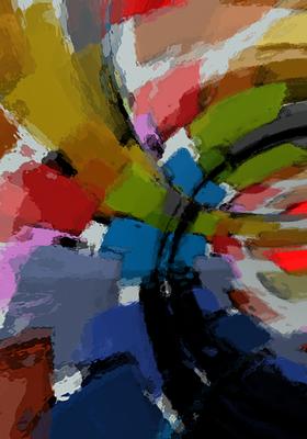 Composiçao Abstrata 297