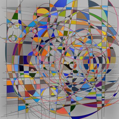 Composiçao Abstrata 340