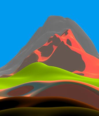 Montanhas coloridas 2