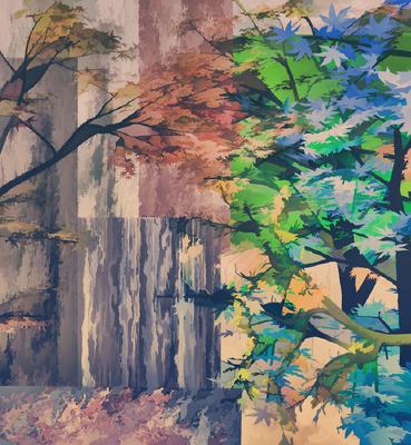 Árvores Outonais 4