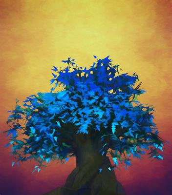 Arvore Azul 3