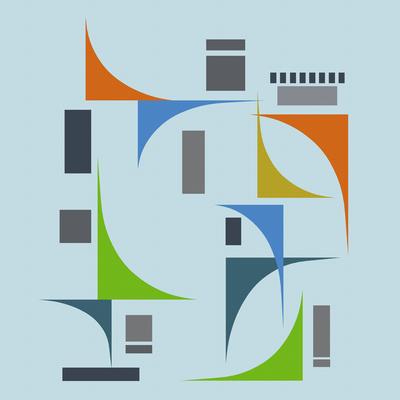Composição Abstrata 584