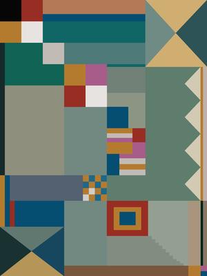 Composição Abstrata 591