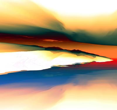 Paisagem Abstrata 13