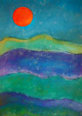 Pôr do Sol nas Montanhas 7