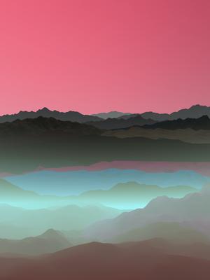 Visão Montanhosa