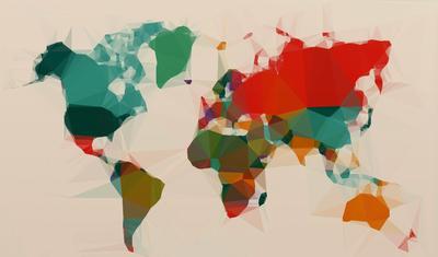 Mapa Mundi - Estilizado