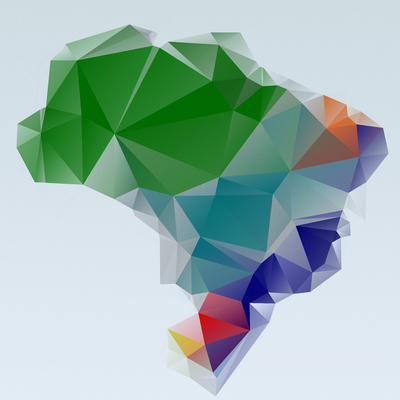 Mapa Brasil - Estilizado