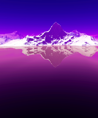 Montanhas Geladas