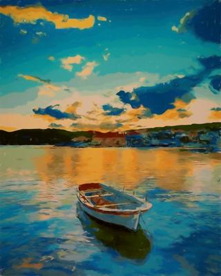 Barco no Lago