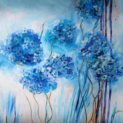 Floral Azul 2