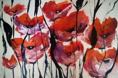 Floral Vermelho