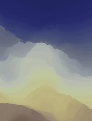 Paisagem Montanhosa 2