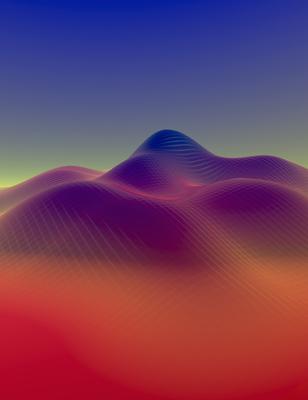 Montanhas ao entardecer 2