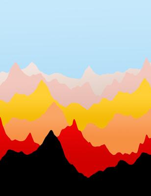 Montanhas Coloridas 3