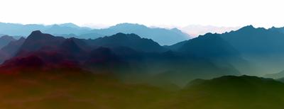 Paisagem Montanhosa 7