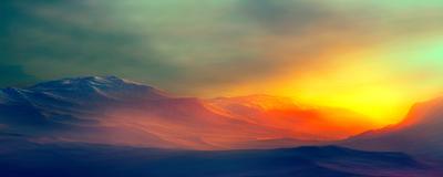Pôr do Sol nas Montanhas 14