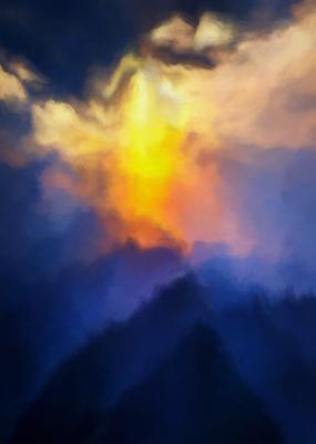 Pôr do Sol nas Montanhas 15