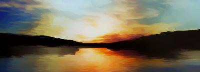 Pôr do Sol Vibrante