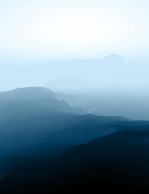 Serenidade Azul II