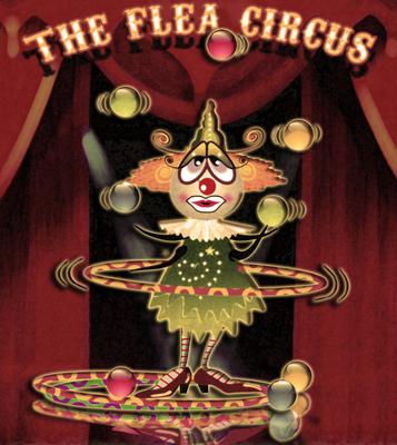 O Circo das Pulgas - O Palhaço Malabarista no Palco