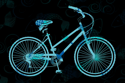 Bikes Tatuadas - Azul Claro