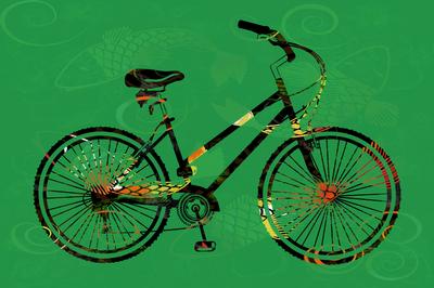 Bikes Tatuadas - Verde primavera