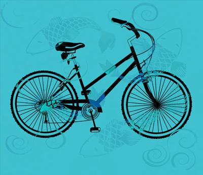 Bikes Tatuadas - Azul, azul