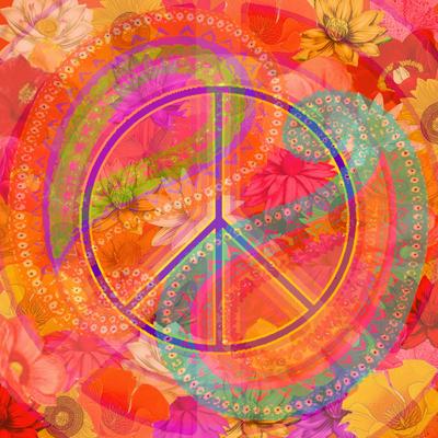 Flower Power - Mandala da Paz e Amor