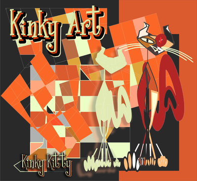 Kinky Kitty - Gatos Cubistas