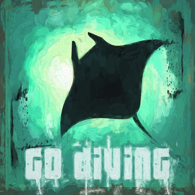 Go Diving/ Mergulho - Arraia Gigante