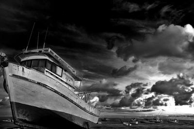 Barco praia do Forte Bahia